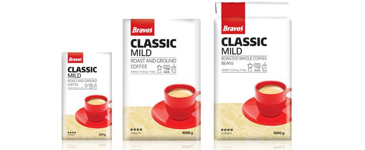 Bravos Classic Mild kávé