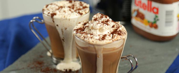 Bravos - I need coffee - Nutellás latte