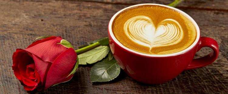 Valentin-napi kávés finomságok