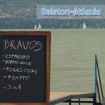Bravos a Balaton-átúszáson